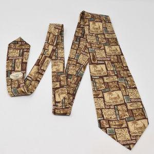 Tommy Bahama Accessories - Tommy Bahama Silk Hawaiian Tie Old Hawaii Island